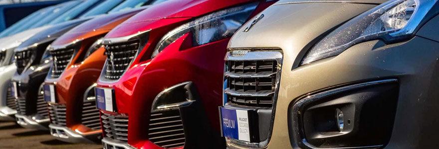 Les voitures Peugeot